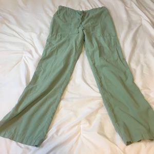 Barco uniforms small flannel scrub pant